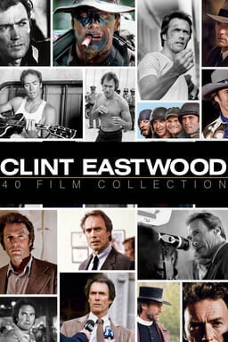 Clint Eastwood 40-film Collection - Key Art