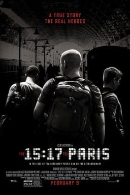 The 15:17 To Paris - Key Art