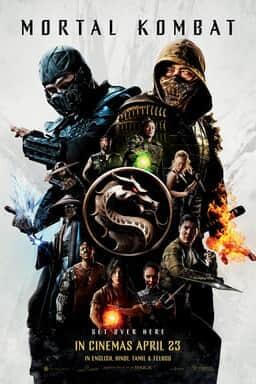 Mortal Kombat - English Poster