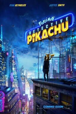 Detective Pokemon Pikachu - Key Art