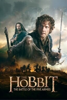 Hobbit: The Battle of the Five Armies, The fka The Hobbit: There And Back Again - Key Art