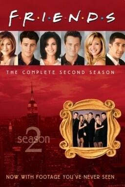 Friends: Season 2 - Key Art