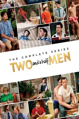 Two and A Half Men The Complete Collection: Season 1 to 12 - Key Art