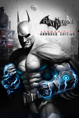 Batman: Arkham City Armored Edition - Key Art