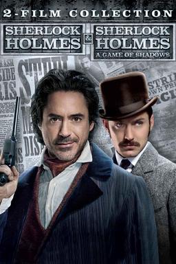 Sherlock Holmes 1&2 Collection - Key Art