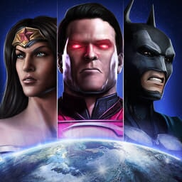 Injustice: Gods Among Us - Key Art